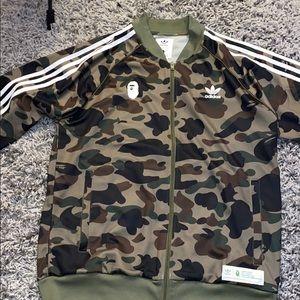 BAPE x Adidas (True Fit) Track Jacket